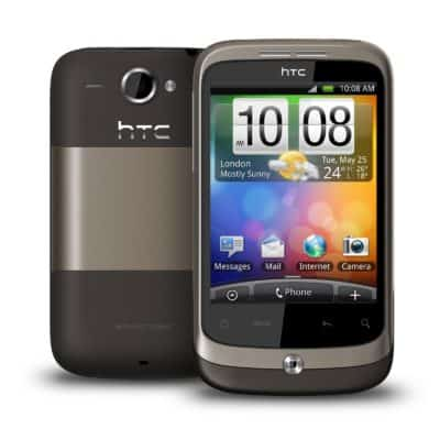 HTC Wildfire Gris