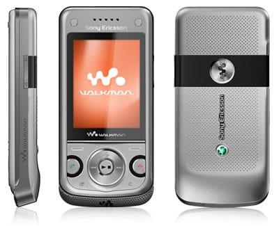 Sony Ericsson W760 Argent