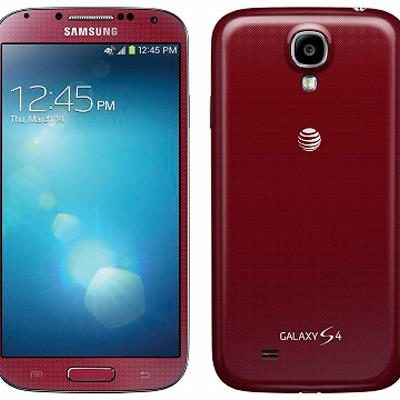 Samsung S4 i337 rouge
