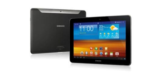 Samsung galaxy tab GT-P7500 black used