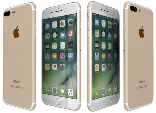 iPhone 7 plus gold used